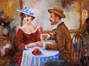 Round Table Prints - The Proposal Print by Igor Postash