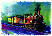 Locomotive Pastels Prints - The Province Print by Sean OConnor