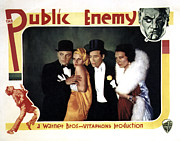 Harlow Framed Prints - The Public Enemy, James Cagney, Jean Framed Print by Everett