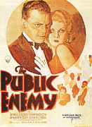 Motion Picture Framed Prints - The Public Enemy Framed Print by Nomad Art And  Design