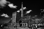 Liverpool Prints - The Pump House Bar At The Albert Dock Liverpool Merseyside England Uk Print by Joe Fox