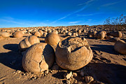 Desert Landscape Prints - The Pumpkin Patch Print by Peter Tellone