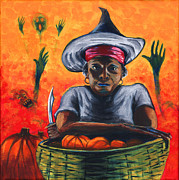 Gail Finn - The Pumpkin Vendor