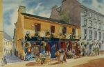 Tribes Painting Prints - The Quays Pub Galway Print by Tomas OMaoldomhnaigh