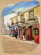 The Pastels Framed Prints - The Quays Pub Framed Print by Vanda Luddy