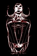 Human Skeleton Originals - The Queen II by Loadus