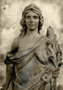 Greek Sculpture Art - The Queen of Congress Hall by Colleen Kammerer