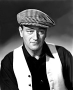 Colbw Photo Framed Prints - The Quiet Man, John Wayne, 1952 Framed Print by Everett