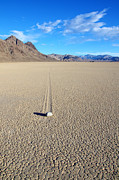 Racetrack Photos - The Racetrack Playa by Bob Christopher
