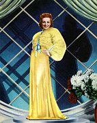 Full-length Portrait Metal Prints - The Rage Of Paris, Danielle Darrieux Metal Print by Everett