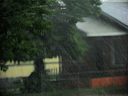 Impressionism Photos - The Rain Series 10 - House on the Corner by Lenore Senior