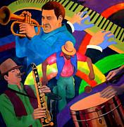 The Rainbow Dancer Print by John Crespo Estrella