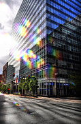 Chicago Skyline Photos - The Rainbow Effect by Emily Stauring