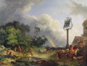 Public House Prints - The Rainbow Print by Philip James de Loutherbourg