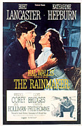 1956 Movies Photo Posters - The Rainmaker, Burt Lancaster Poster by Everett