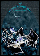 Book Cover Mixed Media - The Ravens are Eating Me Alive  by Cori Caputo