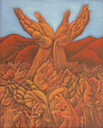 Sign Pastels - The Reach by Byron Blu Crawford