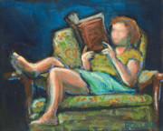 Library Art - The Reader by Buffalo Bonker