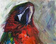 Billie Colson Paintings - The Real McCaw by Billie Colson