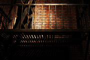 Stair-rail Photos - The Rear Window - 7D17463 by Wingsdomain Art and Photography