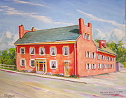 Lafayette Originals - The Red Brick Tavern by Thomas MACMILLAN