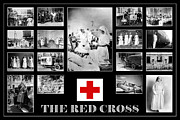 War Relief Framed Prints - The Red Cross Framed Print by Andrew Fare