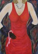 Awareness Originals - The red dress by Mark E Smith