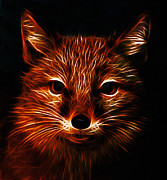 Fox Digital Art - The Red Fox by Stefan Kuhn