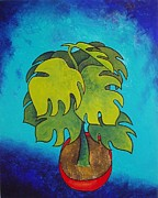Carol Mclagan Prints - The Red Pot Print by Carol McLagan