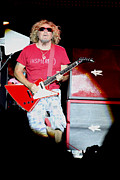 Guitar Photo Originals - The Red Rcoker by Dennis Jones