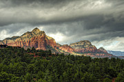 Sedona Framed Prints - The Red Rocks of Sedona  Framed Print by Saija  Lehtonen