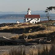 Red Roof Photo Originals - The Red Roof Lighthouse by Chad Davis
