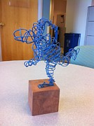 And Sculpture Prints - The Relay Runner Print by David Patterson
