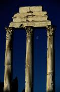 Pollux Framed Prints - The Remains Of The Temple Of Castor Framed Print by James L. Stanfield