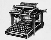 Remington Prints - The Remington 2, The First Typewriter Print by Everett