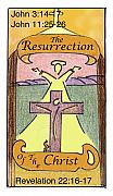 Revelation Drawings - The Resurrection by Chayla Dion Amundsen-Noland