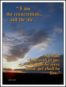 Awesomeness Posters - The Resurrection Poster by Glenn McCarthy Art and Photography