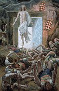 Fear Painting Prints - The Resurrection Print by Tissot