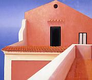Architectural Landscape Paintings - The Retreat by Gloria Cigolini-DePietro