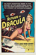 Jbp10ap23 Framed Prints - The Return Of Dracula, Francis Lederer Framed Print by Everett