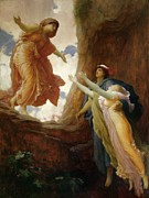 Abducted Prints - The Return of Persephone Print by Frederic Leighton