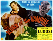 Wolfman Framed Prints - The Return Of The Vampire, Nina Foch Framed Print by Everett