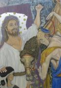 Child Jesus Painting Originals - The Richman by Ayla Corstanje-uncu