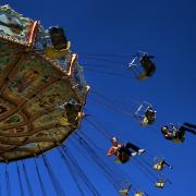 Amusement Ride Framed Prints - The Ride Framed Print by David Patterson