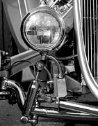 Monochrome Hot Rod Prints - The Right Light Print by John Herzog