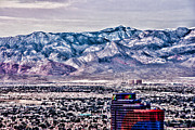 Las Vegas Landscape Framed Prints - The Rio Framed Print by Ches Black