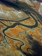San Francisco Airport Photos - The River Bends III by Elizabeth Hoskinson
