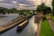 Cruiser Framed Prints - The River Thames at Goring Framed Print by Rob Hawkins