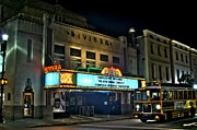 Photographers Fairburn Posters - The Riveria Theater Poster by Corky Willis Atlanta Photography