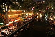 Riverwalk Photos - The Riverwalk by Caroline Lomeli